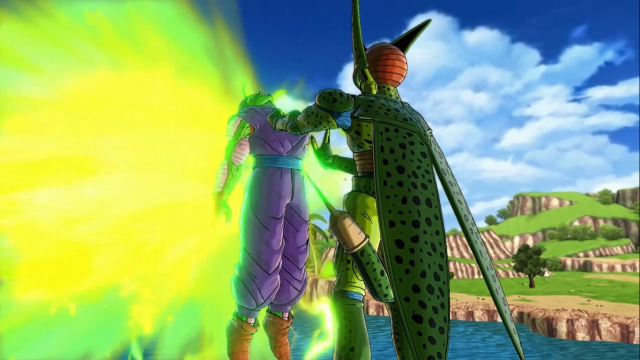 Cell first form vs Piccolo | Dragon Ball Xenoverse 2 - YouTube