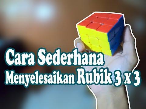 Cara Menyelesaikan Rubik 3x3 untuk pemula part 5 kalau mau lebih cepat lagi silahkan belajar di video tutorial CFOP di channel....