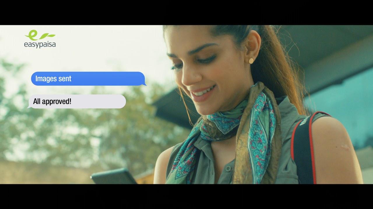Easy Paisa App Tvc featuring Sanam Saeed