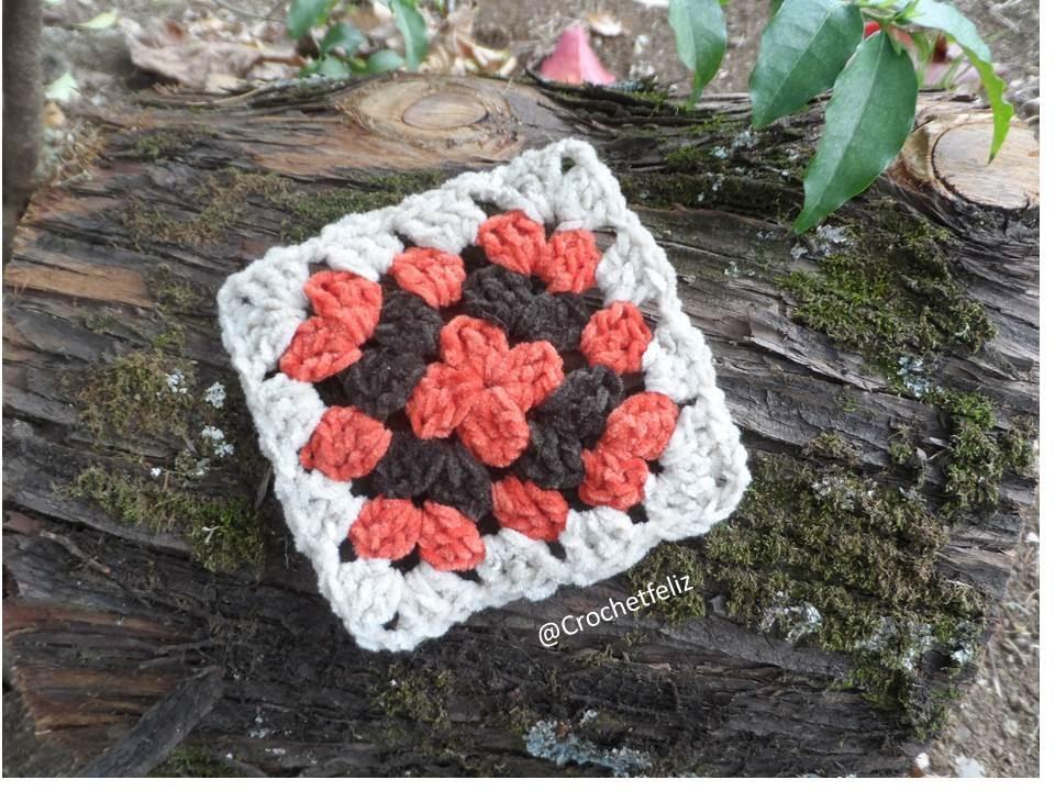 Cómo hacer un cuadrado a Crochet. El Patrón más fácil - YouTube
