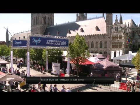 Ypres Rally - Day 1 - Qualifying Stage Highlights and Start from the podium