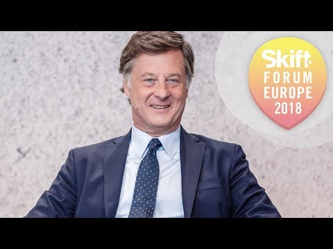 AccorHotels Chairman and CEO at Skift Forum Europe 2018