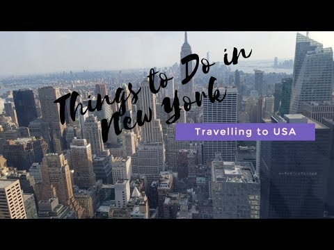 Things to do in New York | NYC VLOG| Travelling to USA