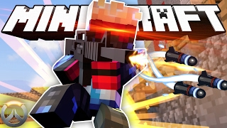 Minecraft OVERWATCH Hide and Seek! (Minecraft Modded Overwatch Minigame)