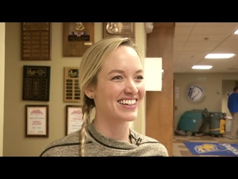 """Pitch Perfect"" star Kelley Jakle teams up with Great Falls Central Catholic High School"