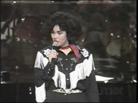 Mandy Barnett on  Opry singing Blue Moon of Ky for  APC 1994