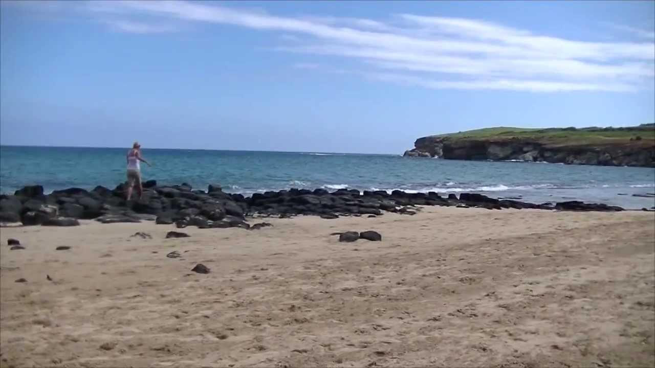 The Cave At Gillin S Beach Kauai Hawaii