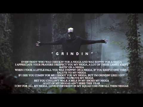 August Alsina - Grindin' Lyric Video