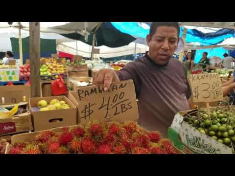 MERCADO DE FRUTAS Y VERDURAS EN BOSTON