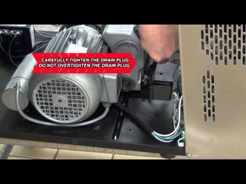 UV225 Oil Change - Ultravac 225 Vacuum Chamber Packaging