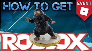 HOW TO GET NIFFLER COMPANION ROBLOX 2018 HALLOWEEN EVENT