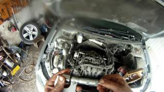 Митсубиси лансер 10 , регулировка клапанов, ремонт двигателя, mitsubishi lancer x