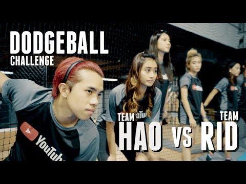 YOUTUBER DODGEBALL CHALLENGE