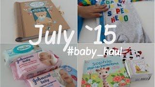 Покупки и подарки для НОВОРОЖДЕННОГО  / Июль #baby_haul(В этом видео я покажу покупки для малыша, которые мы совершили в июле: одежда, предметы по уходу, книги, а..., 2015-11-13T15:30:00.000Z)