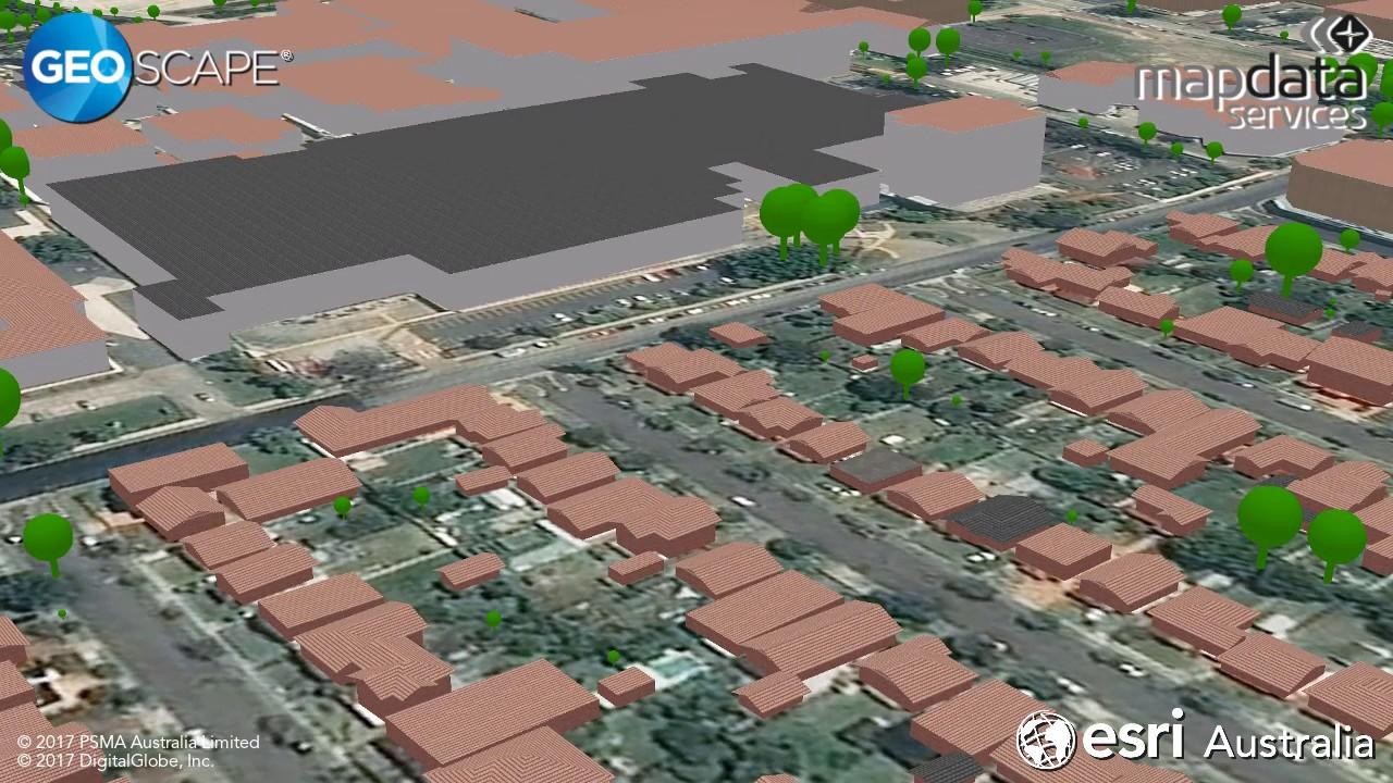 Geoscape: Australia's National 3D Dataset - Esri Australia blog