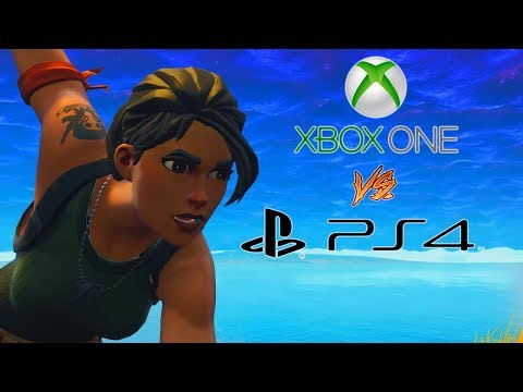 XBOX Vs PS4 Is Now Possible In Fortnite! Crossplay Has Finaly Been Enabled By Sony