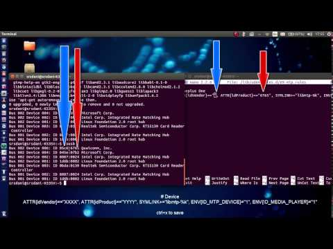 How to connect Android device using MTP Ubuntu - Tutorial