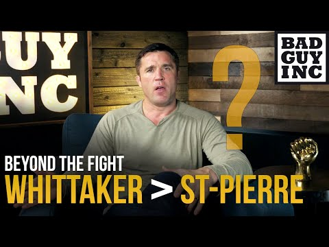 Is Robert Whittaker a better version of Georges St-Pierre?
