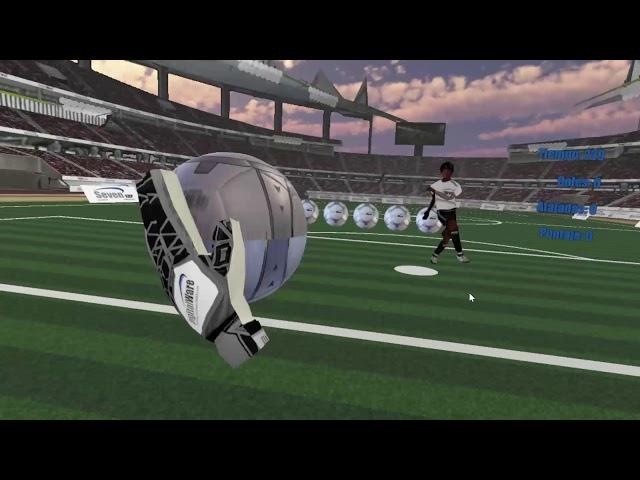 Advergame Atrapa Penales - Realidad Virtual Game - Marketing Interactivo