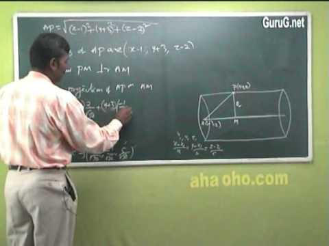 Unit-2 Three Dimensional Analytical Geometry (Equation & Right Circular Cylinder) - Mathematics