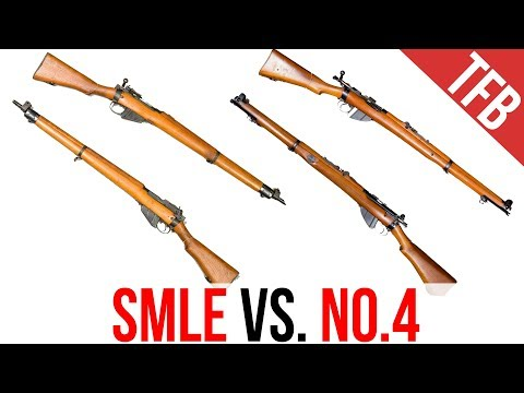 Differences between the Lee-Enfield SMLE and the No.4