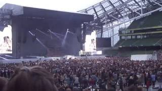 """In this video you can see the exact moment that rihanna gets emotional while singing song """"love way lie"""" live dublin - ireland. love..."""