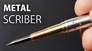 Machining a Metal Scriber w/ Carbide Tip