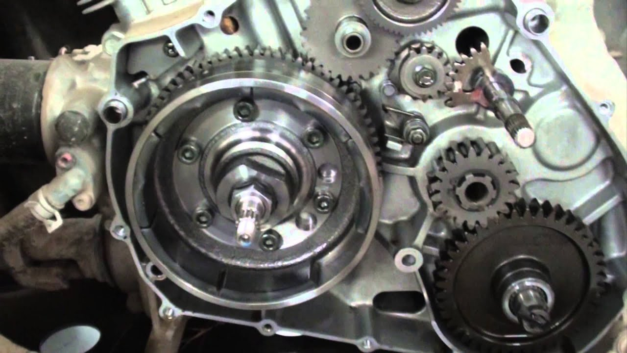arctic cat 400 4x4 ignition problem flywheel magnets  [ 1280 x 720 Pixel ]