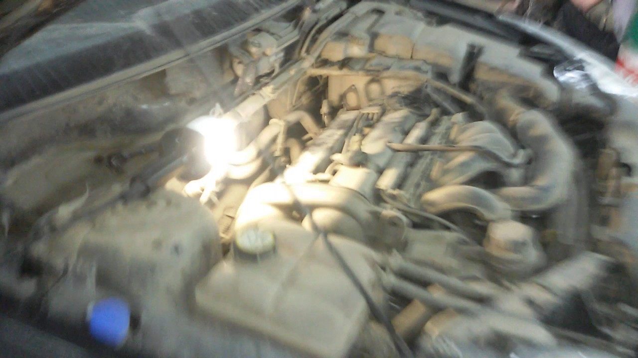 Замена шаровых Ford Tranzit
