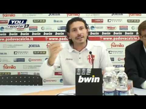 Dopo Padova-Vicenza 2-1: Dal Canto litiga con alcuni giornalisti padovani (1) - da YouReport.it