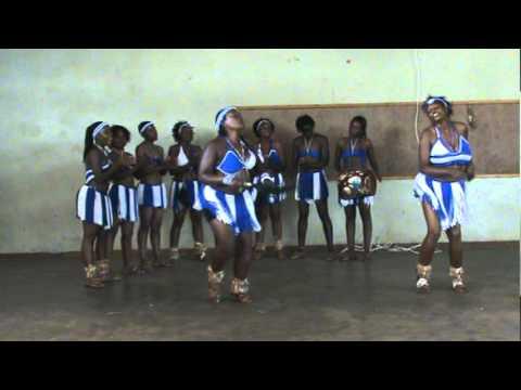 All women traditionell tribal dancing Kasane Botswana Africa II