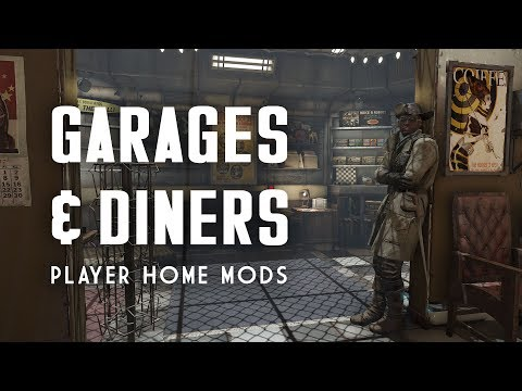 Only the Best Garage & Diner Player Homes - Fallout 4 Mods
