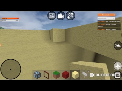 Stream #2 Playing Mini Block Craft