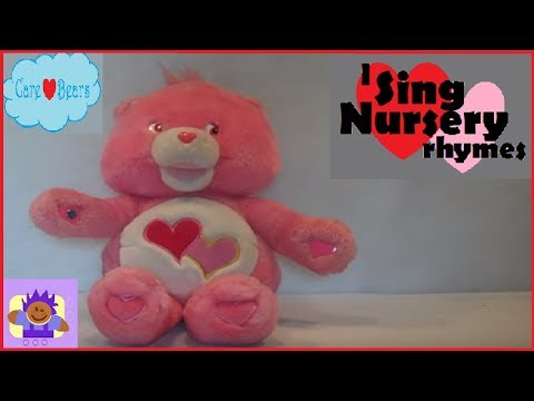 2004 Care Bear Singing Love A Lot Bear Plush By TCFC