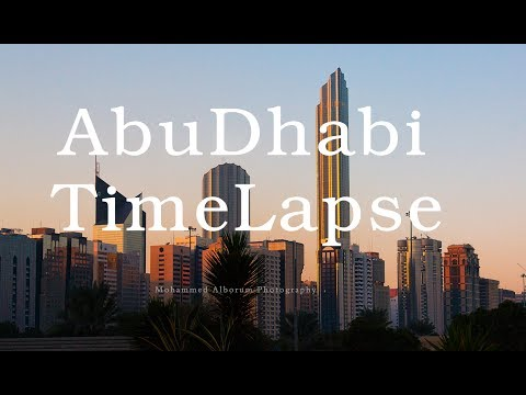 AbuDhabi City TimeLapse HD