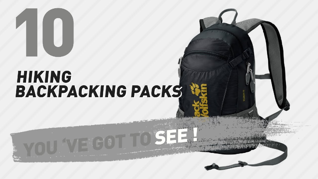 296bbc75872 Jack Wolfskin Backpacking Packs, Top 10 Best Sellers // Hiking ...