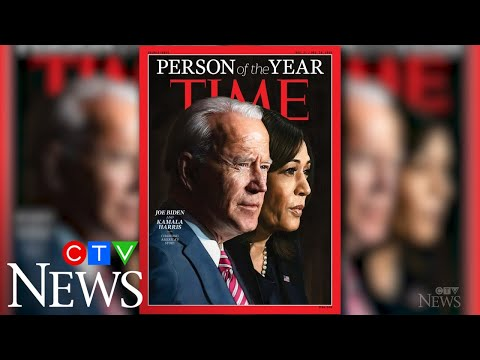 Biden, Harris are Time magazine's 'Person of the Year'