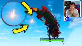 * NEW * METEOS ARE DROPPING on the MAP at FORTNITE: BATTLE ROYALE (Season 4 Battle Pass) ‹ DENGOSO ›