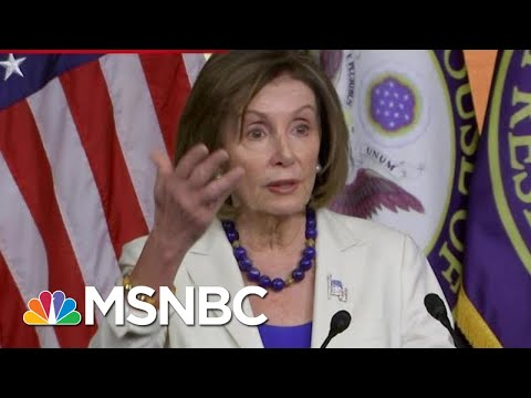 Nancy Pelosi: Evidence Is Clear That President Donald Trump Undermined National Security   MSNBC