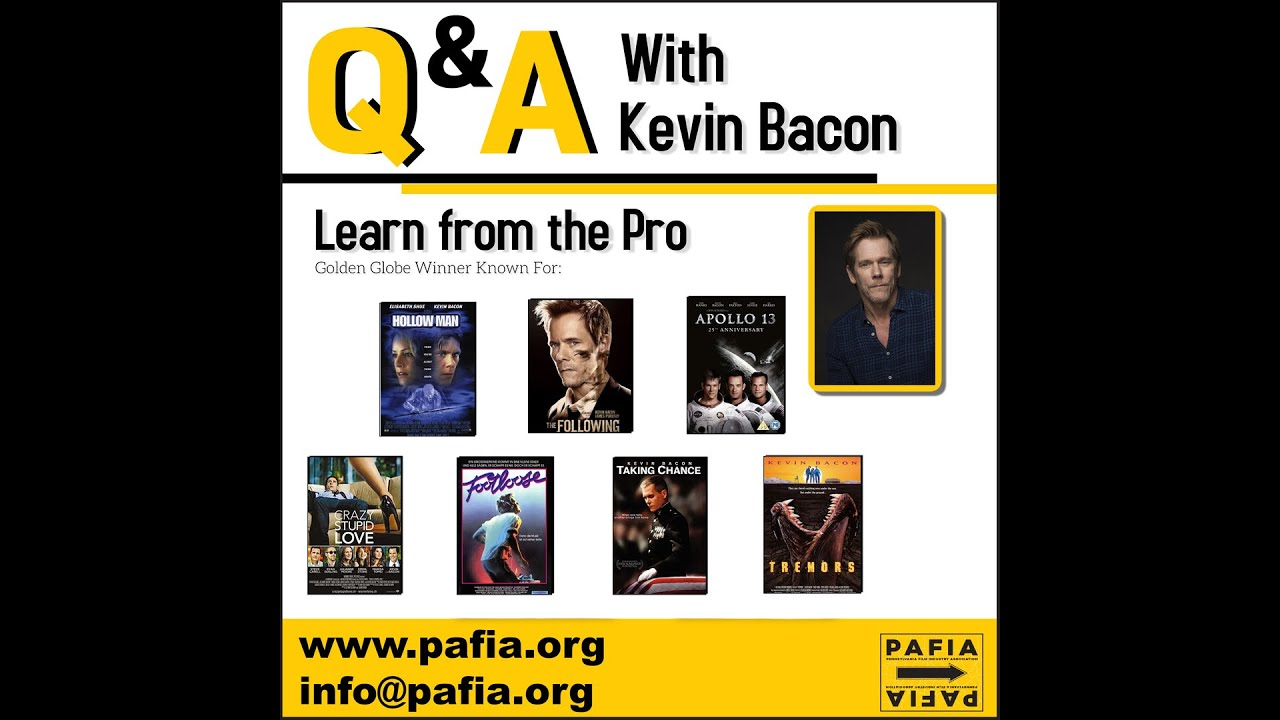 Masterclass with Kevin Bacon