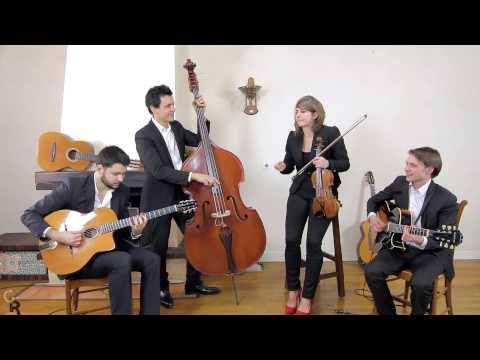 Rose Room - Quartet swing et jazz manouche avec violoniste