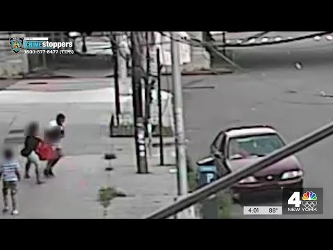 Mom Thwarts NYC Kidnapping Attempt, Pulls Son Out Snatchers' Car Window | NBC New York