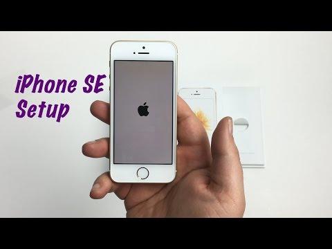iPhone SE Basics: Setup