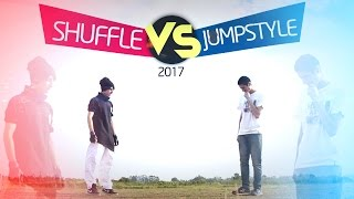 Repeat youtube video Shuffle vs Jumpstyle 2017
