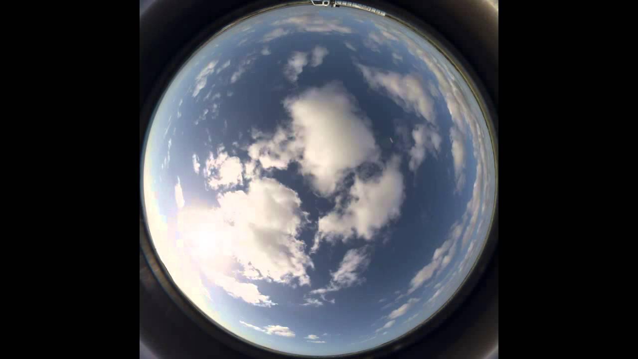 4 Hour Time-Lapse HDRI Sky Dome, No Flicker @ F11