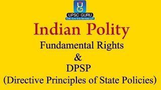 Relationship between Fundamental Rights and Directive Principles of State Policies (DPSPs)