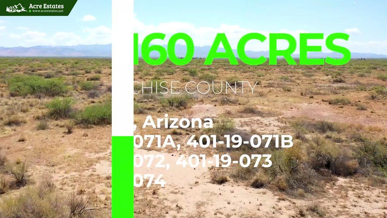 40 Acres in Sunizona AZ located at the Chiricahua Mountains,Dragoon Mountains, and Coronado Forest!
