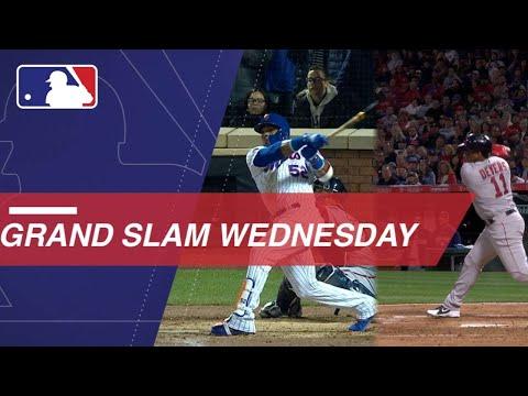 Moncada, Grandy, Cespedes, Devers all hit grand slams