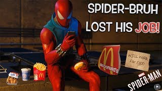 """FUNNY """"SPIDER-MAN"""" PS4 GAMEPLAY #4"""