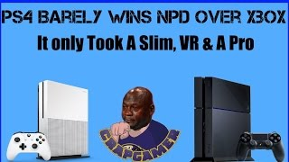 PS4 Squeaks Past Xbox One To Win November NPD, Oh So Close!